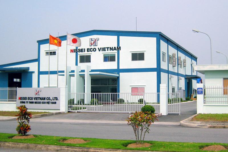 ベトナム工場(ハイフォン)NISSEIECO VIETNAM CO.,LTD.