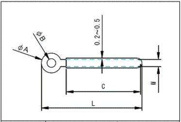 CL配線クリップ図面