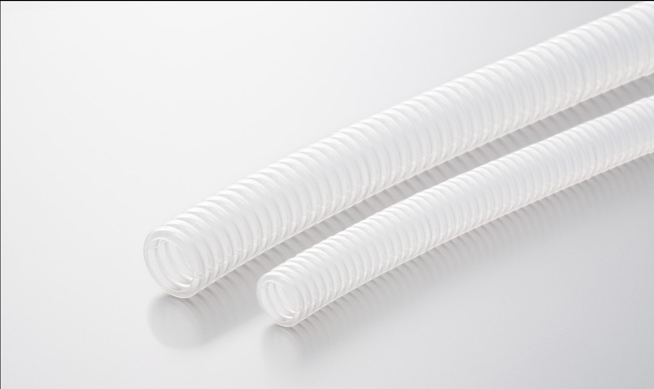 Corrugated Tube Wire Harness Adalah White Transparent
