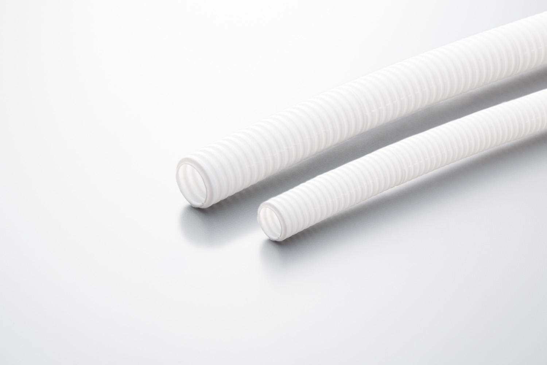 白色コルゲートチューブ